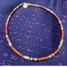 Collier JOY Perles tubes rondes
