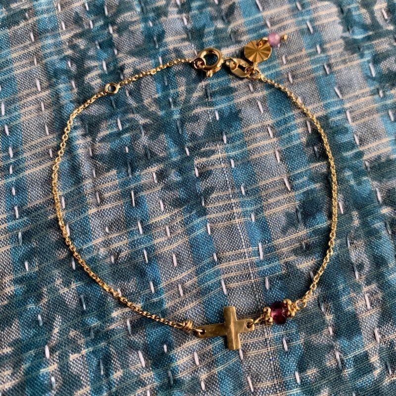 Bracelet croix LAURIE