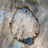 Bracelet Lagon pierres fines