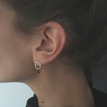 Sous le sable Collection Antoinette Boucles d'oreilles Dinette