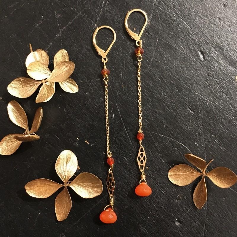 Boucles d'oreilles Demoiselle Collection Simplissime